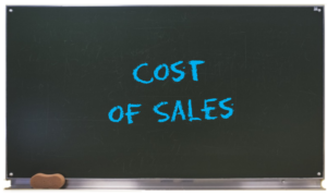 Creating Value - Cost of sales